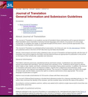 Journal of translation