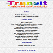 Transit: translation, mediation, communication